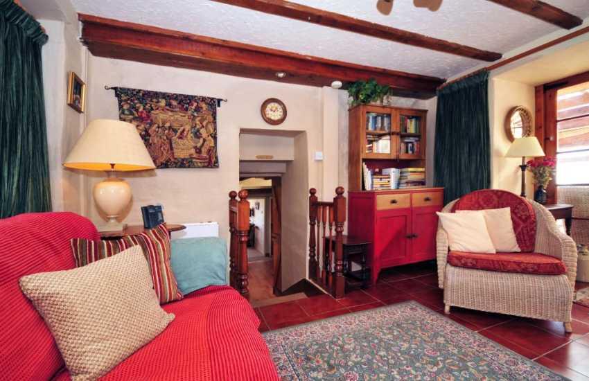 Llyn Peninsula holiday cottage - lounge