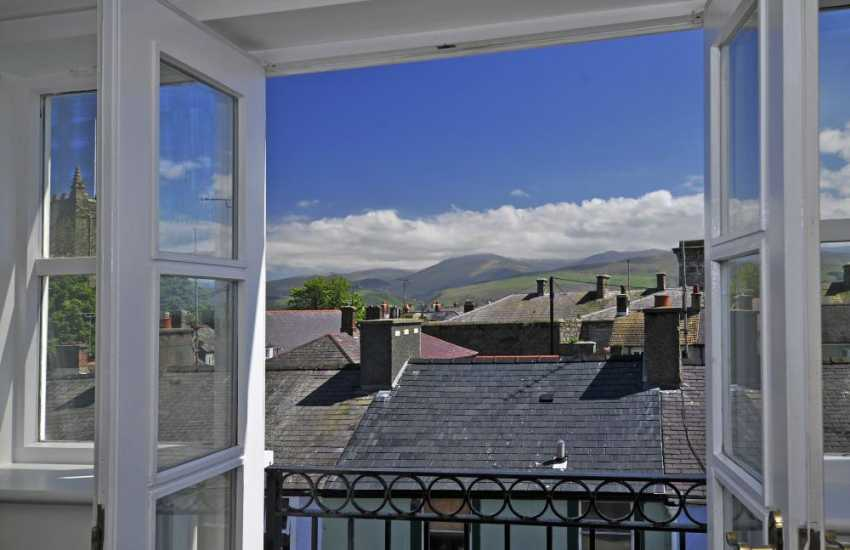 Snowdon views from Croeso apartment - view