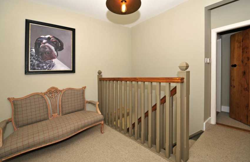 Luxury self catering Brecon Beacons - landing