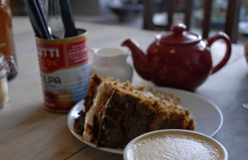 Call into Wright's Food Emporium for the most delicious homemade cakes and fresh produce