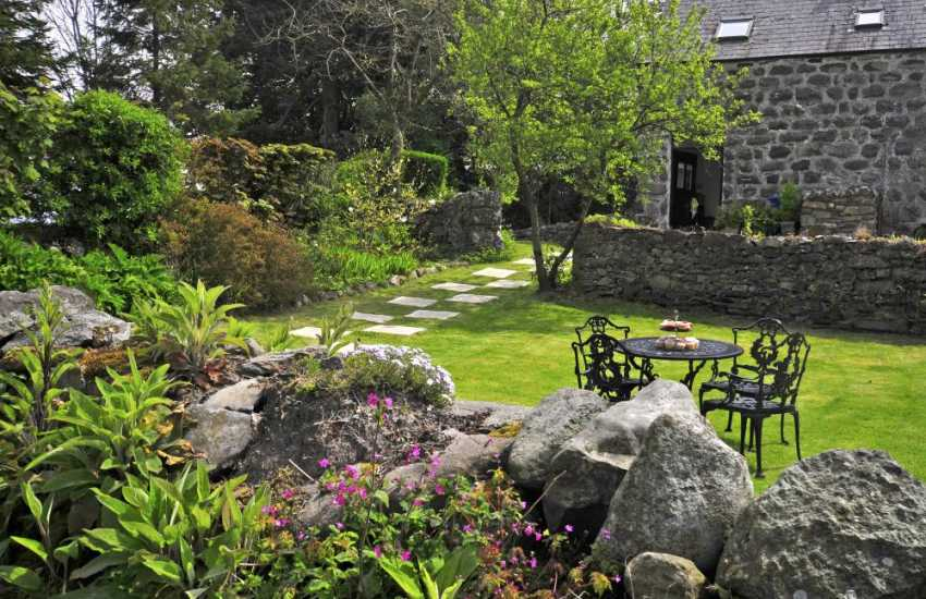 North Wales cottage - garden