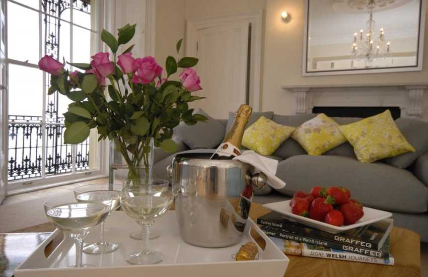 St Catherine's House Tenby - relax in style with friends and family
