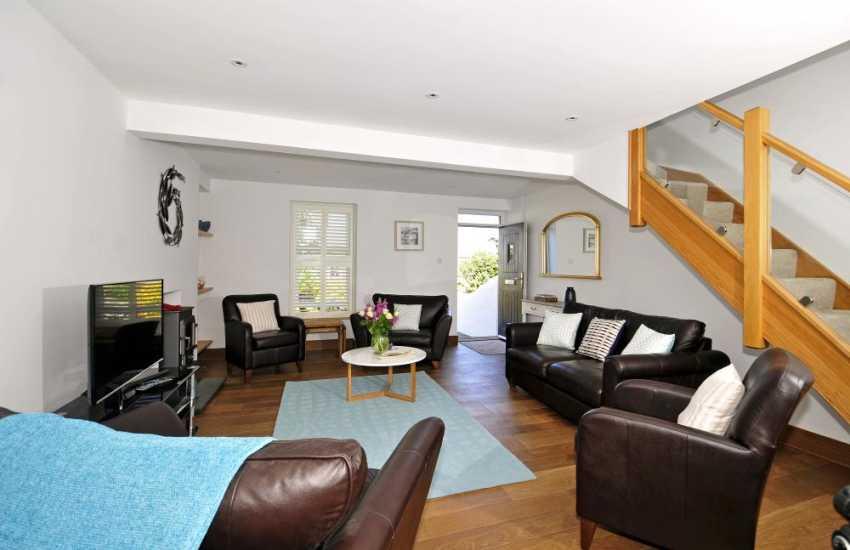 Porthdinllaen holiday cottage - lounge