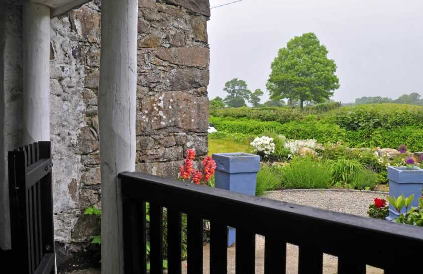 Romantic cottage wales - view