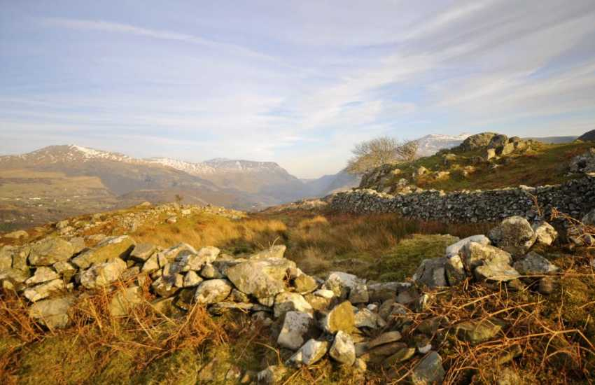 The Mountains of Snowdonia around Llanberis