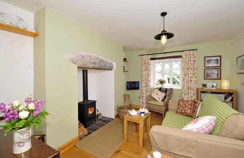 Romantic cottage north wales - lounge