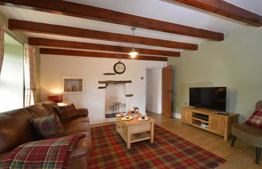 Cleddau Estuary holiday cottage - lounge