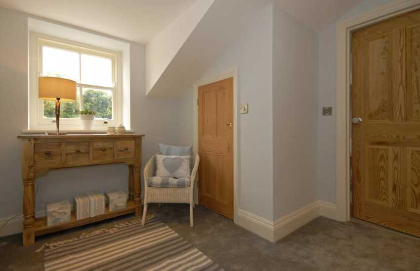 North Pembrokeshire renovated holiday home - first floor landing