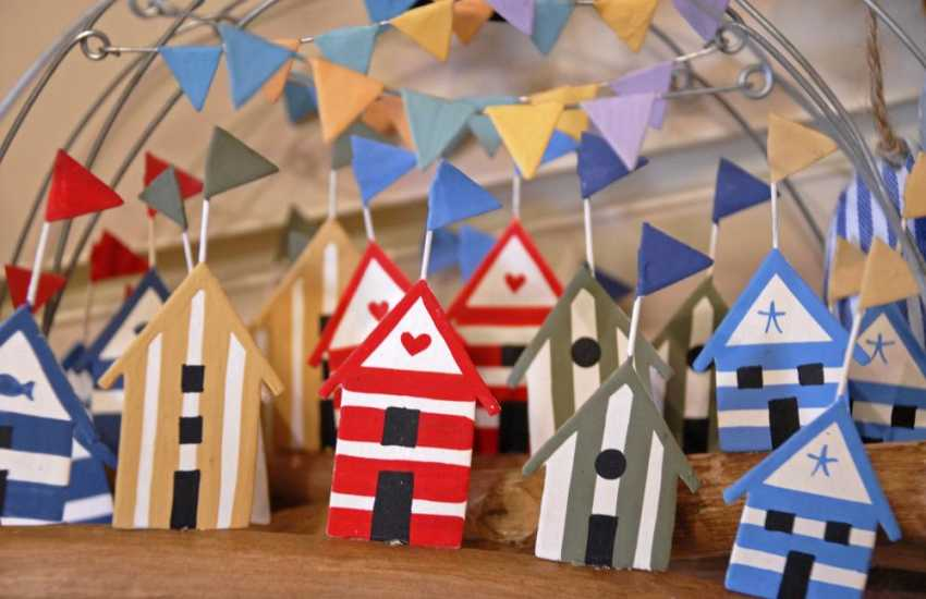 Pembrokeshire has lots of art and craft shops for all your holiday souvenirs