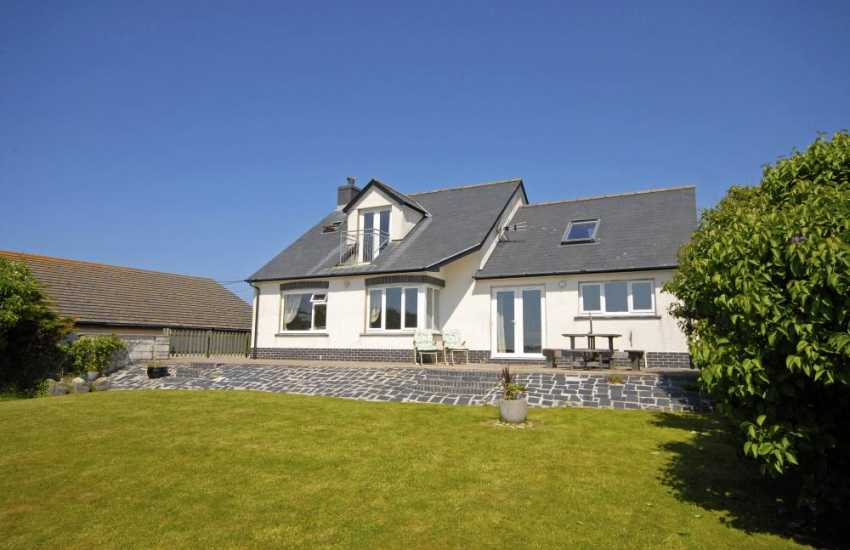 Gwbert, Cardigan Bay holiday home with gardens - sorry no pets