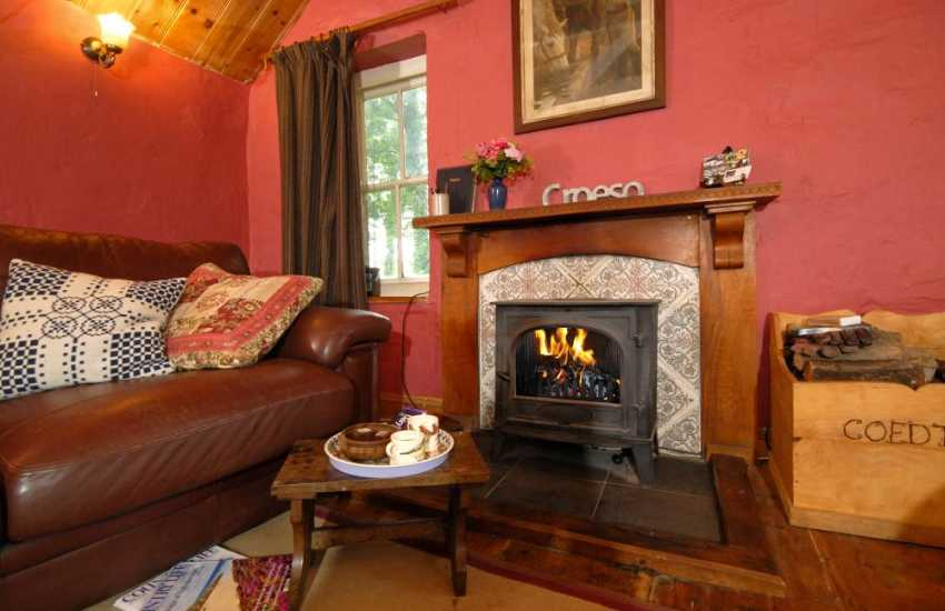 Teifi River valley, Carmarthenshire - rural retreat with wood burning stove
