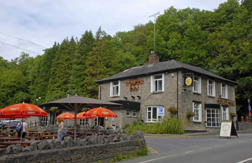 The Gower Inn, Parkmill - a family friendly pub serving good honest home cooked food