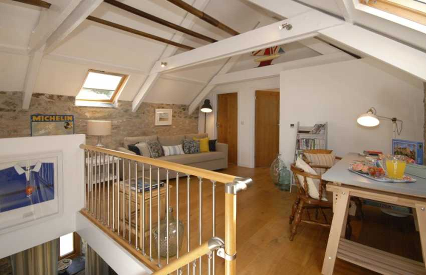 North Pembrokeshire family holiday home with stylish open plan living space