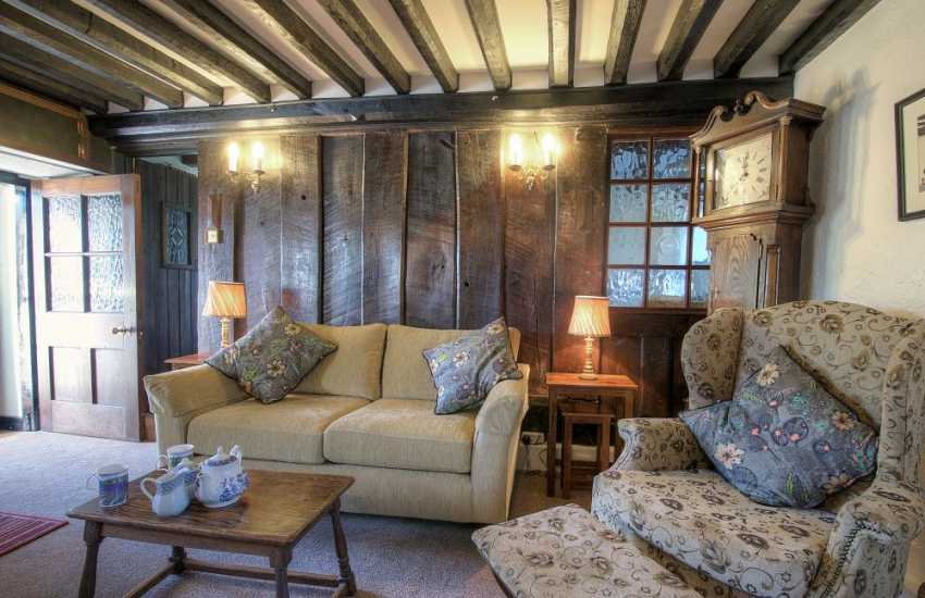 Rural holiday cottage north Wales-lounge