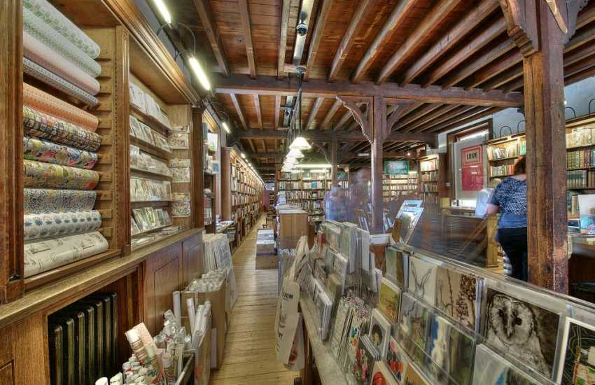 Richard Booths's Book shop & cafe Hay on Wye