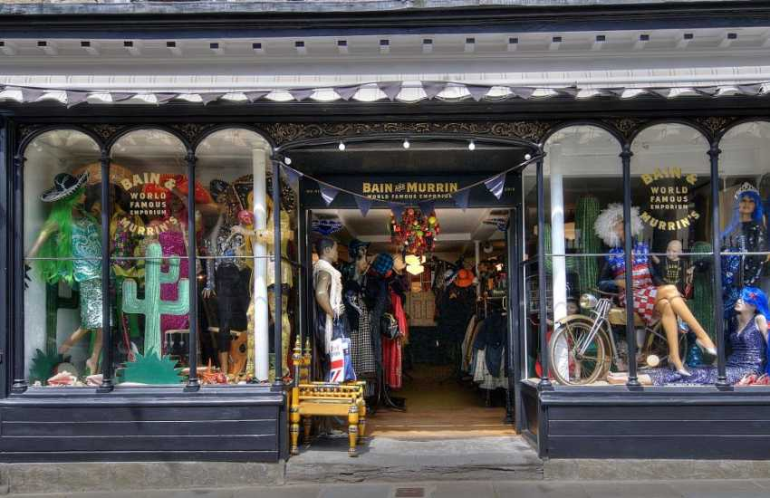 Fabulous Vintage shop in Hay on Wye