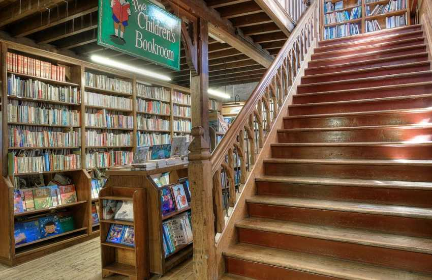 Hay on Wye book shops