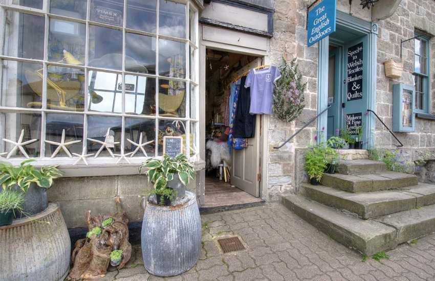 Interesting individual shops in hay on Wye