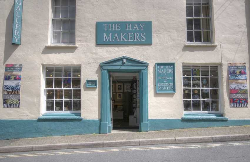 Hay Makers Gallery shop in Hay on Wye