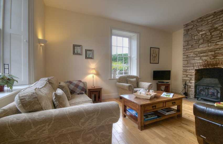 Hay on Wye self catering - lounge