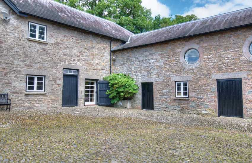 Hay on Wye holiday cottage - ext
