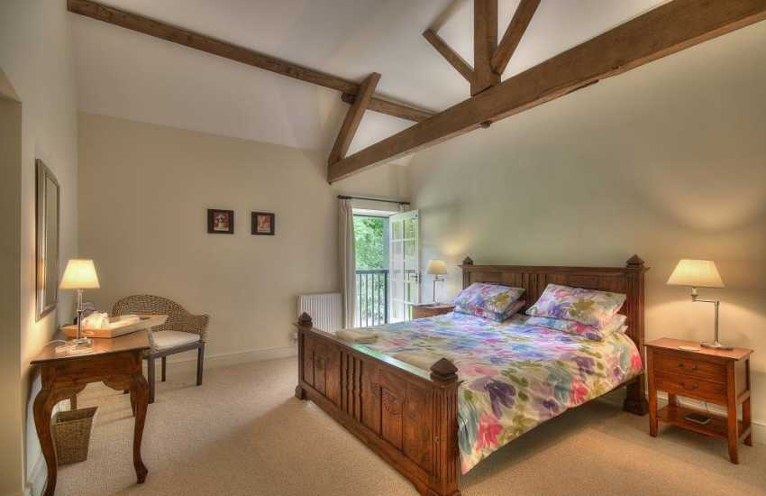 Glasbury holiday cottage -  bedroom