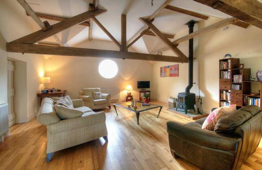 Hay on Wye holiday house - lounge