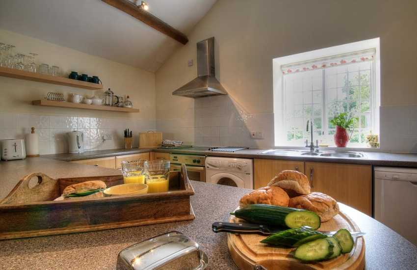 Self catering cottage hay on Wye - kitchen