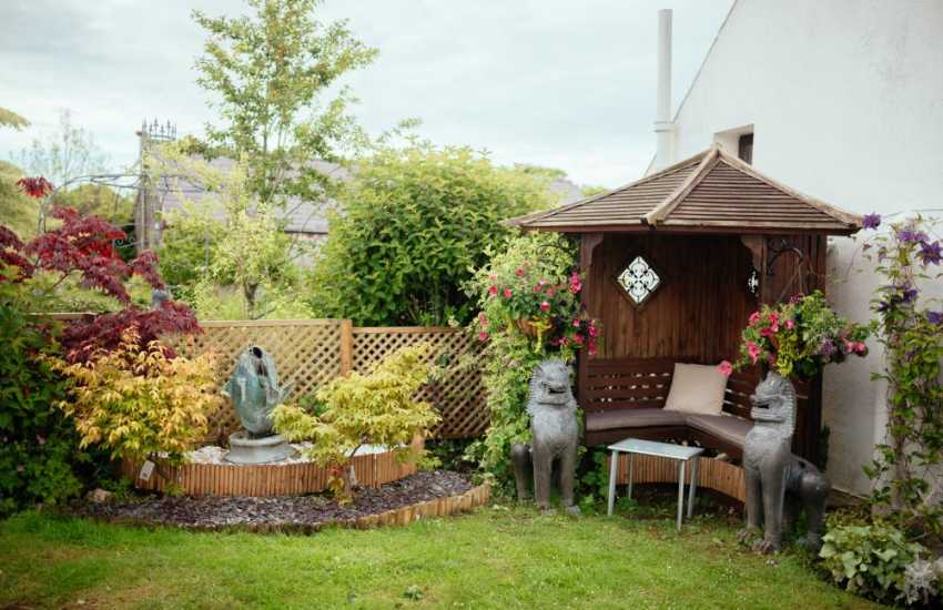 Gower Peninsula cottage gardens