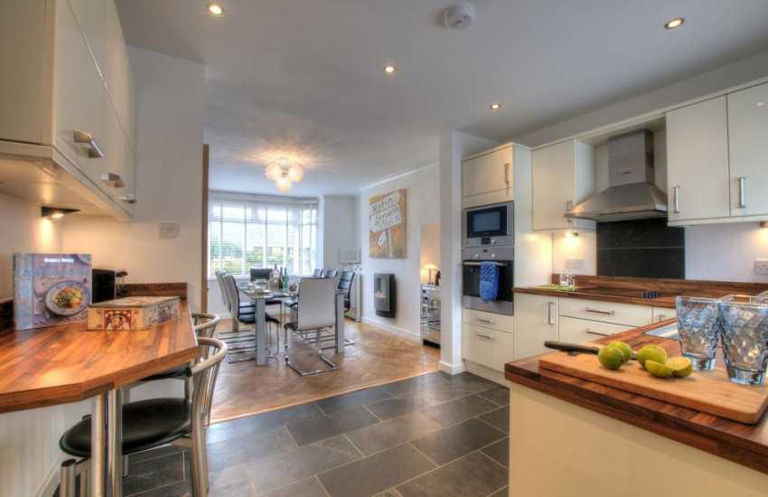 Cottage on the coast Wales - kitchen