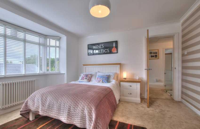 Bedroomed holiday house Morfa Nefyn - bedroom