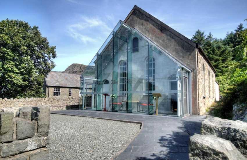 Heritage centre at Nant Gwrtheyrn near Nefyn