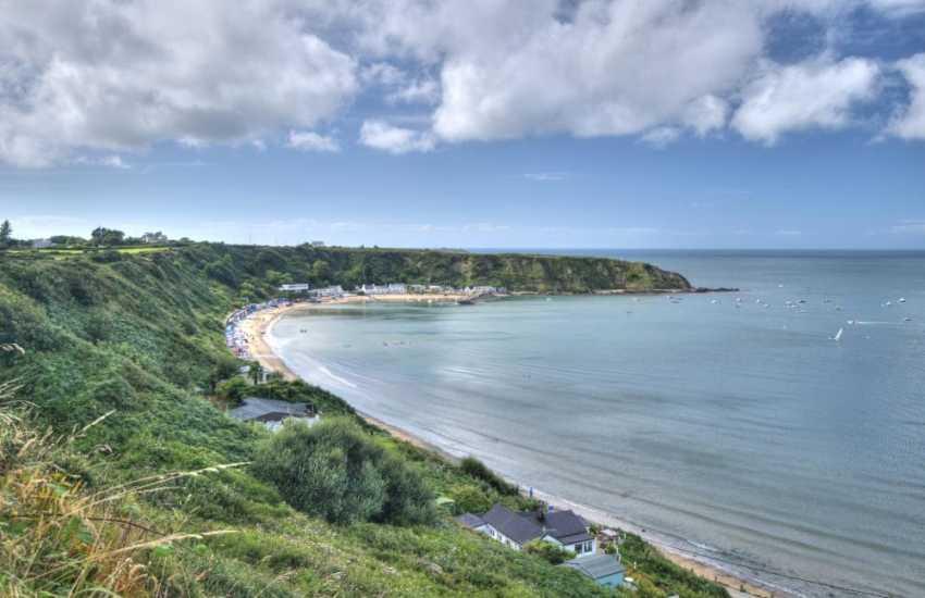Nefyn bay and beach on the Llyn Peninsula