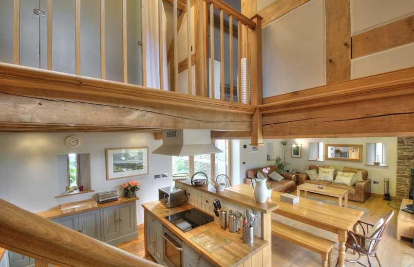 Black Mountains holiday cottage - lounge