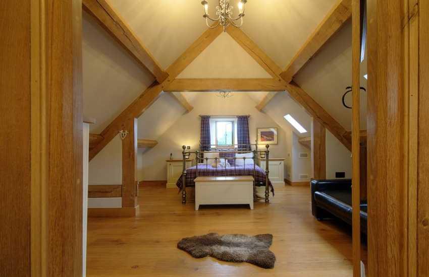Hay on Wye holiday house - bedroom
