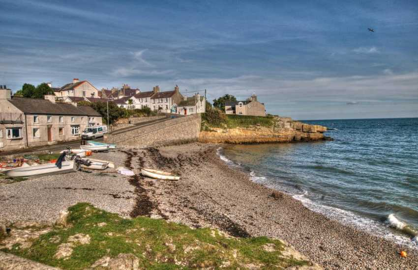 Moelfre beach, Anglesey