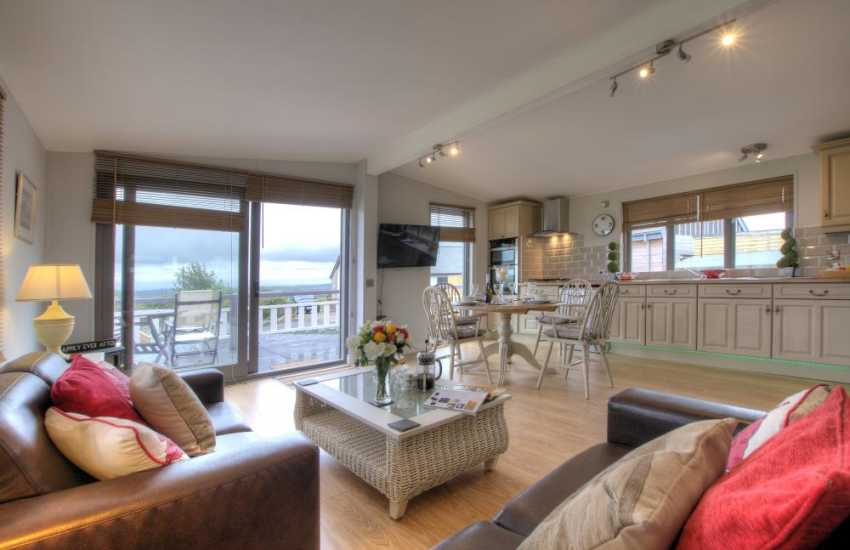 Pet free holiday Anglesey - lounge