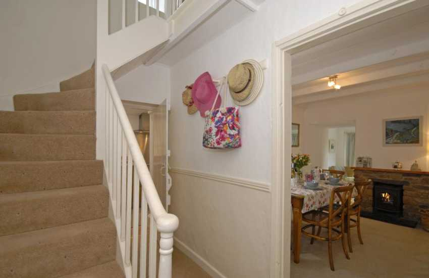 St Davids Peninsula holiday cottage with winding staircase