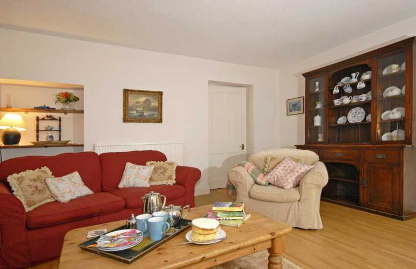 Dale holiday home in Pembrokeshire with comfortable sitting room and Welsh dresser