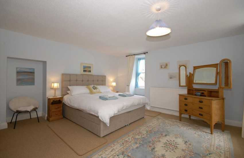 Dale holiday house - first floor double with village and sea views