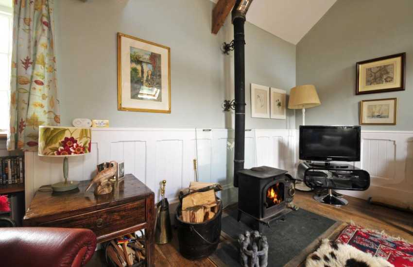Llyn Peninsula holiday cottage - lounge