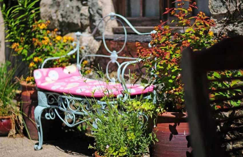 Porthmadog holiday cottage - garden