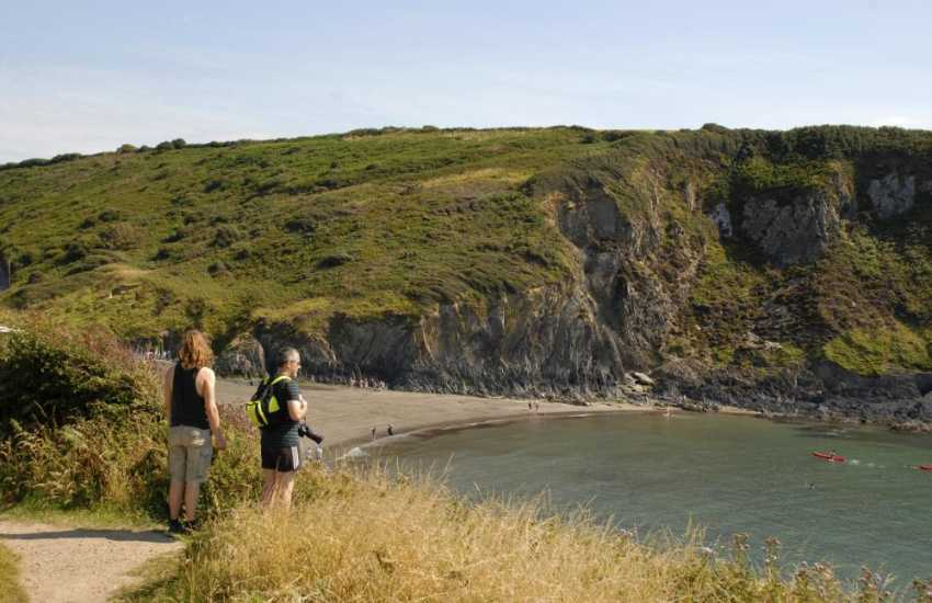 The Pembrokeshire Coast Path offer fabulous cliff top walking at any time of the year
