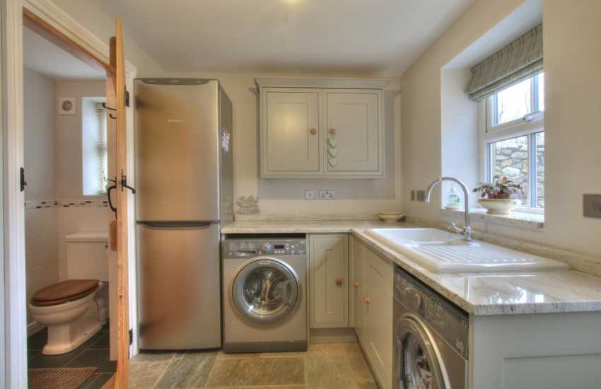 North Wales luxury cottage - utility
