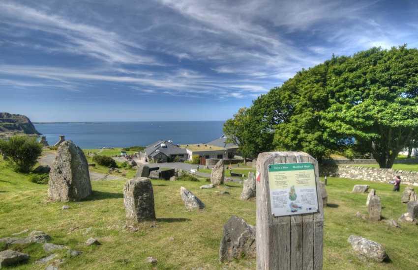 Nant Gwrtheyn Welsh language and heritage centre on the Lleyn Peninsula