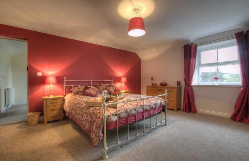 Coastal cottage North Wales - bedroom