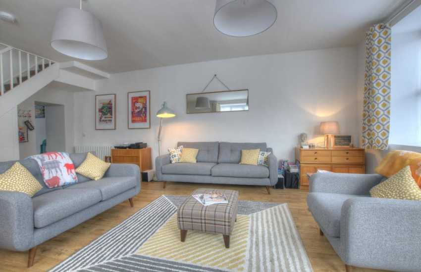 Luxury holiday cottage north wales - lounge