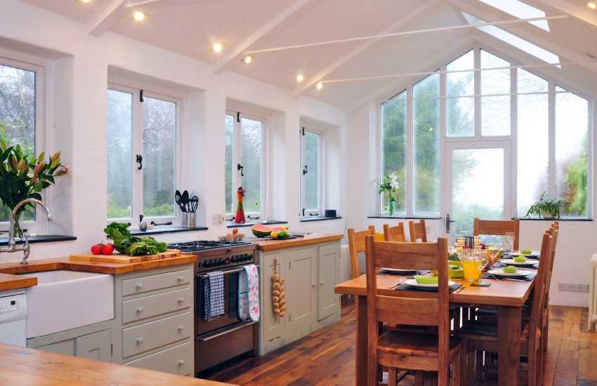 Rhinogs holiday cottage - kitchen