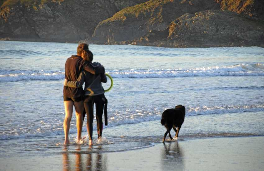 Most Quality Cottages are dog friendly. Enjoying the beach together