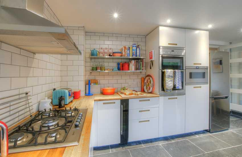 Luxury holiday house St Davids Wales - kitchen